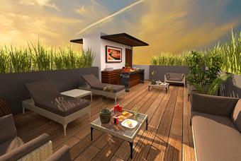 Roof Garden de Place Mixcoac
