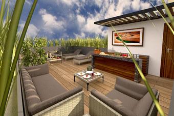 Exclusivo Roof Garden en Place Mixcoac en la delegación Benito Juárez